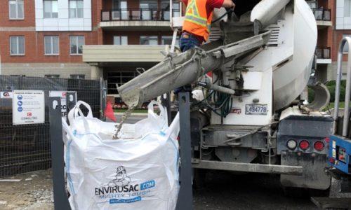 Support de sac à béton | Produits industriels | Par ABM enviro.